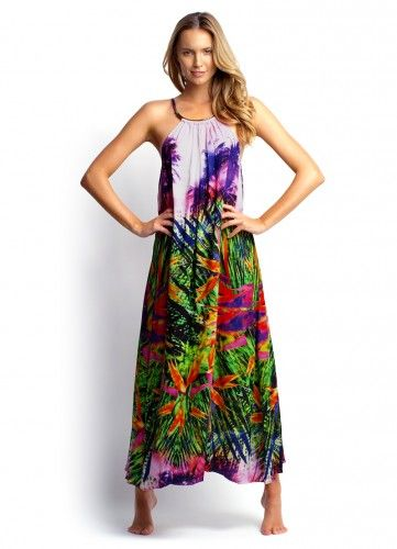 Seafolly south pacific maxi dress