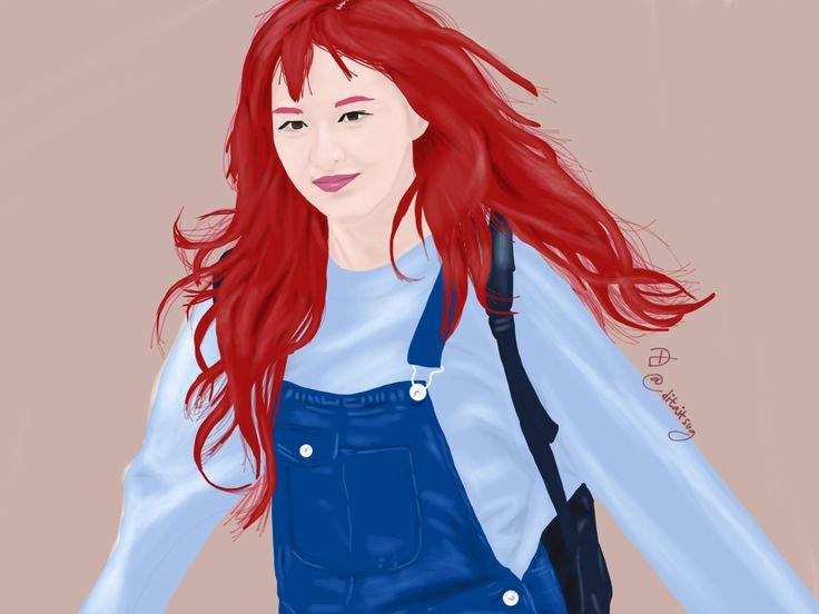 Red Velvet's Wendy..