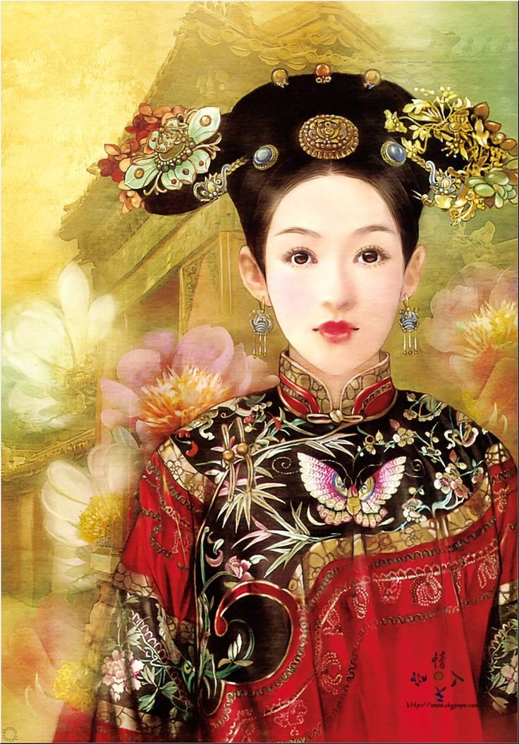 中国らしい画風 「東方の画姫」徳珍氏の美人画_China.org.cn