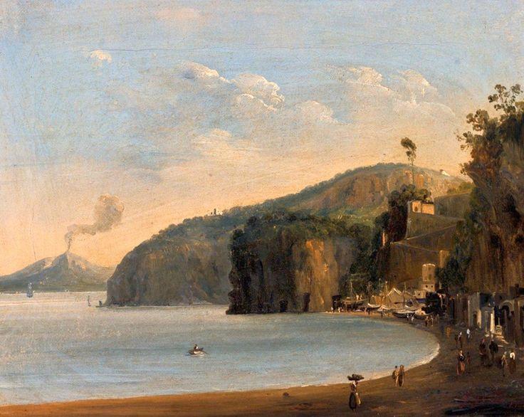 Giacinto Gigante (1806-1876)  Amalfi coast