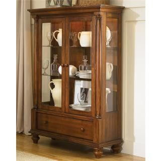 Liberty Furniture In Liberty Furniture Americana Traditional Display Cabinet at Big Sandy Superstore
