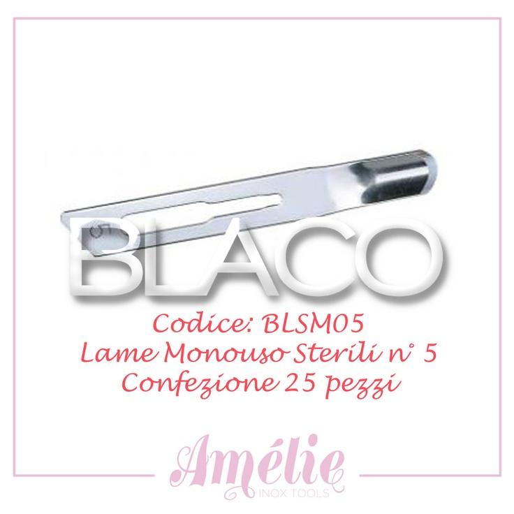 Amelie inox tools sgorbia box 25pz num. 5