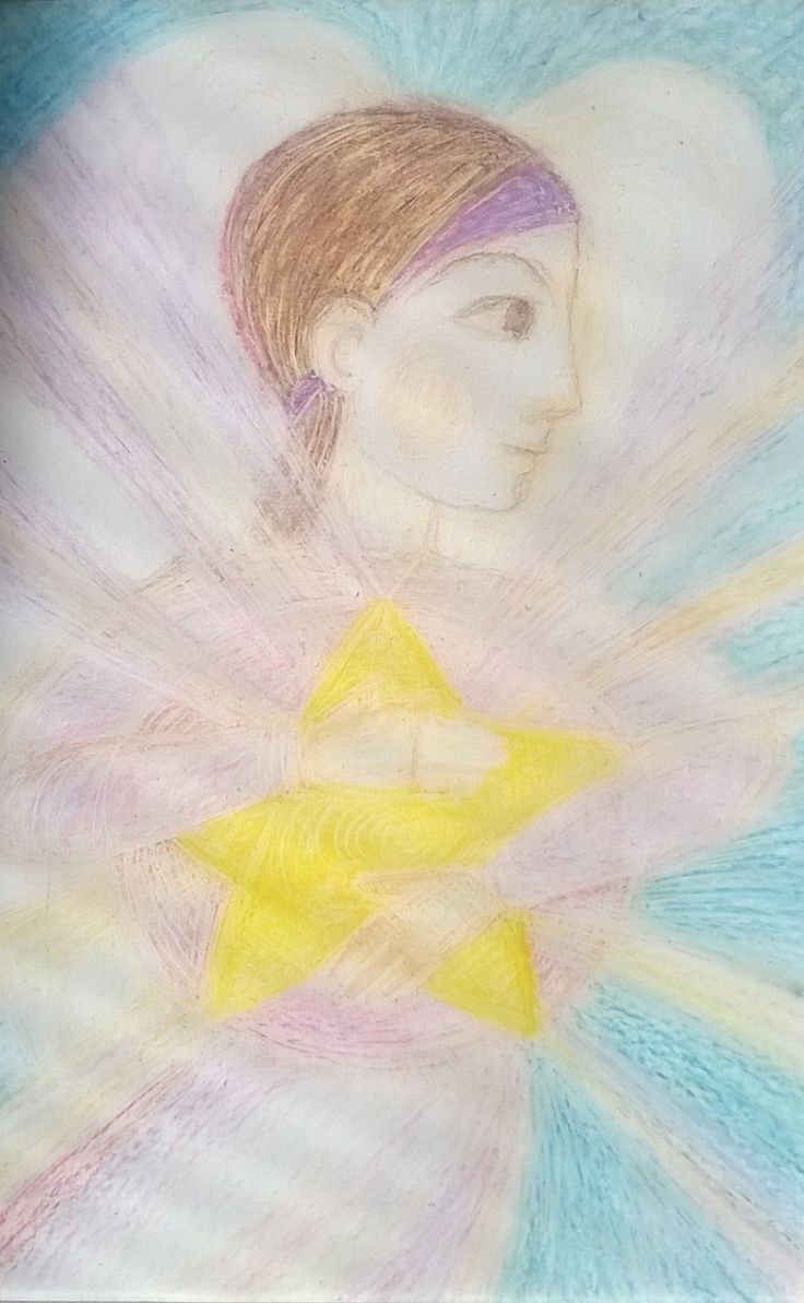 Guardian Angel, Art by Ivana Axman