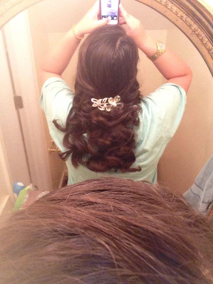 Tin foil curls