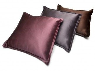 """Silk Travel Pillow.  At just 12"""" by 14"""", our silk travel pillow fits easily in your carry-on, purse, or briefcase. The removable cover is machine washable so it's easy to care for and always ready to go on your next adventure. 