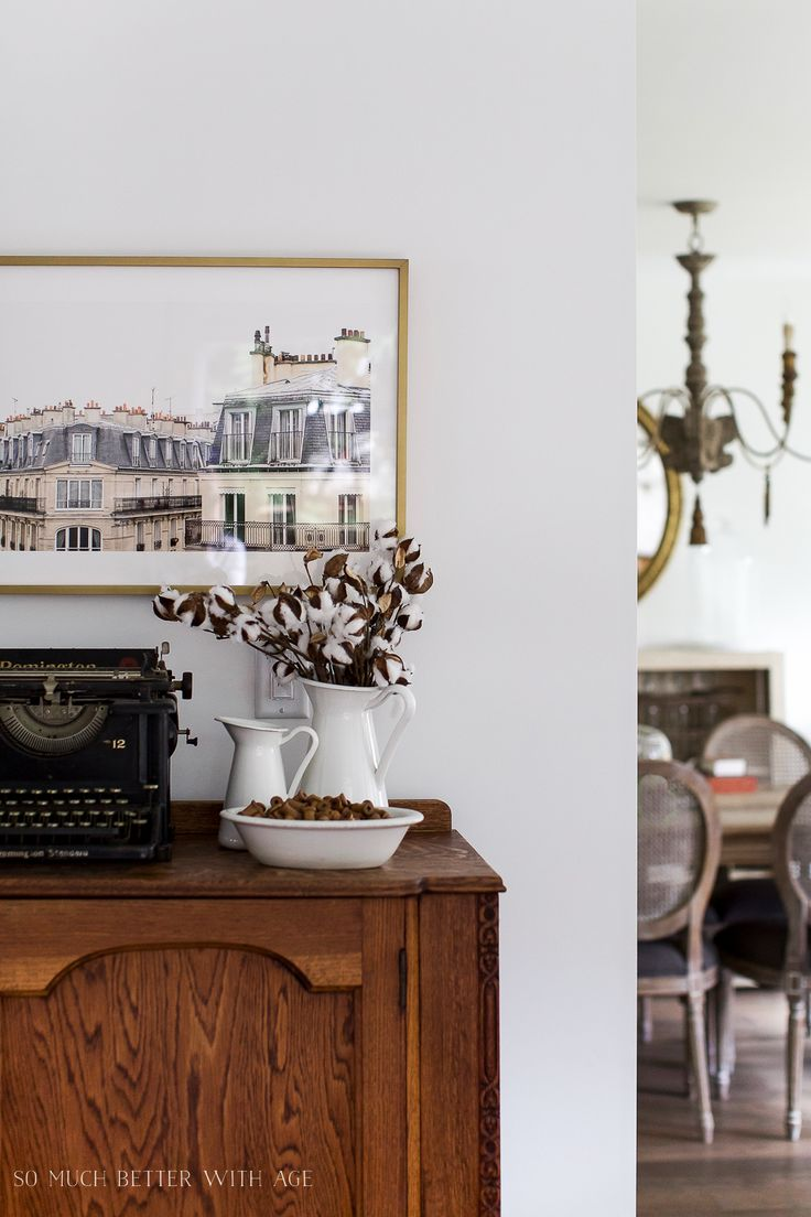Paris Building, How to Pick Art with a French Vintage Vibe - So Much Better With Age