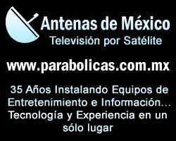 Televisión vía satélite (entretenimiento e información) www.parabolicas.mpw.mx