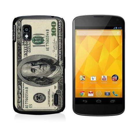 100 Dollar Bill Google Nexus 4 Case - For Nexus 4