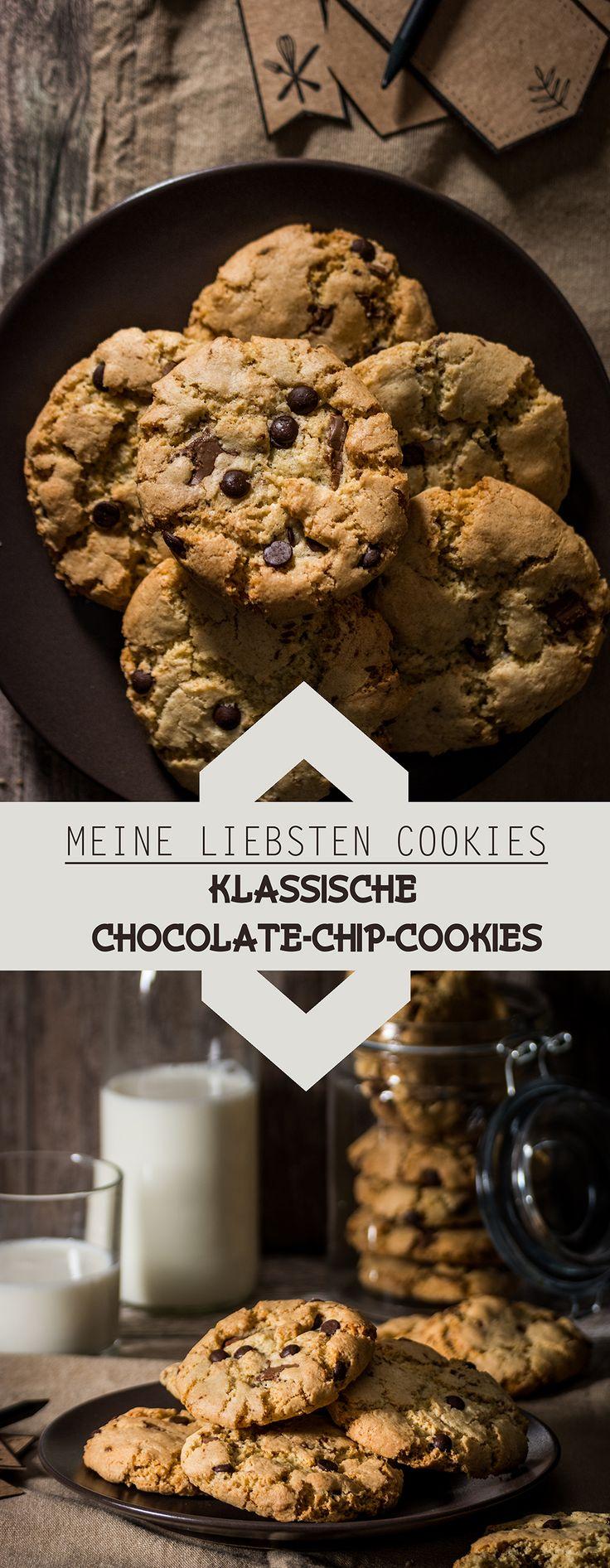 Klassische Chocolate-Chip-Cookies /// Classical Chocolate Chip Cookies