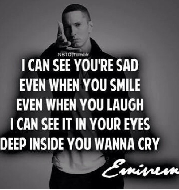 Lyrics from one of my favorite songs.