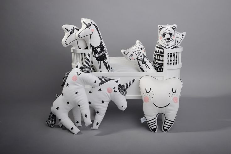 Cool soft toys by Foxella & Friends