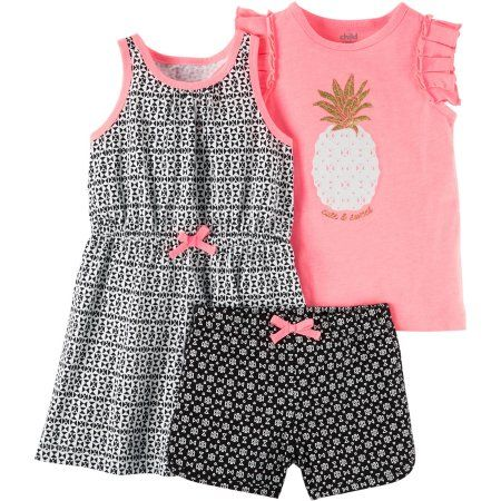 Child of Mine By Carter's Baby Toddler Girl 3 Piece Set