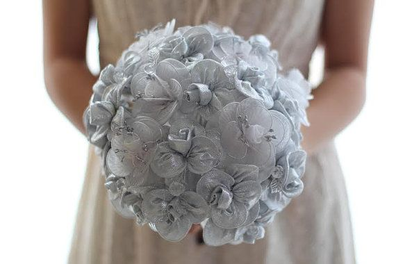 SALEDesigner Wedding Bouquet  Bridal Arrangement in by sapti, $165.00