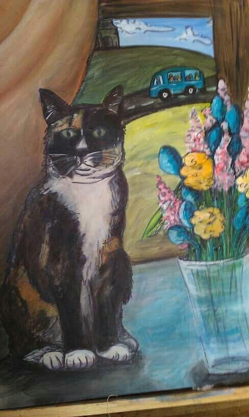 'Pixie' Acrylic on canvas 2010