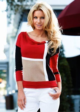 Autumn Cashmere Studded Rib Cable Crew Sweater en Hemp | REVOLVE