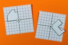 Lernstübchen: Drehsymmetrie - Anschauungsmaterial
