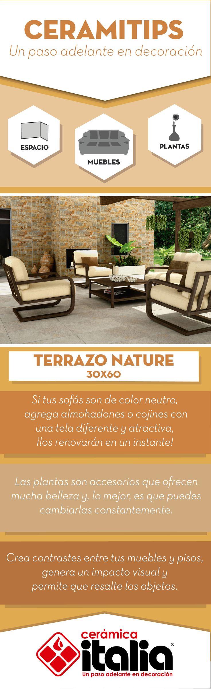 Crea contrastes entre tus muebles y pisos, genera un impacto visual y permite que resalte los objetos. #Exterirores #Outdoor #Cojines #Cushions #Planta #Plan #Madera #Amarillo #Yellow