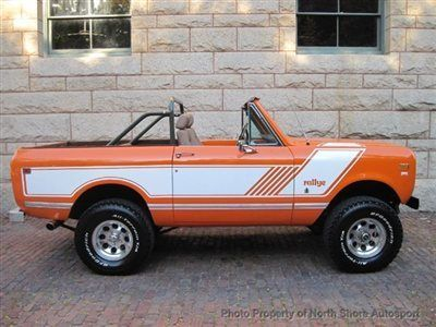 1976 International Harvester : Scout Rallye
