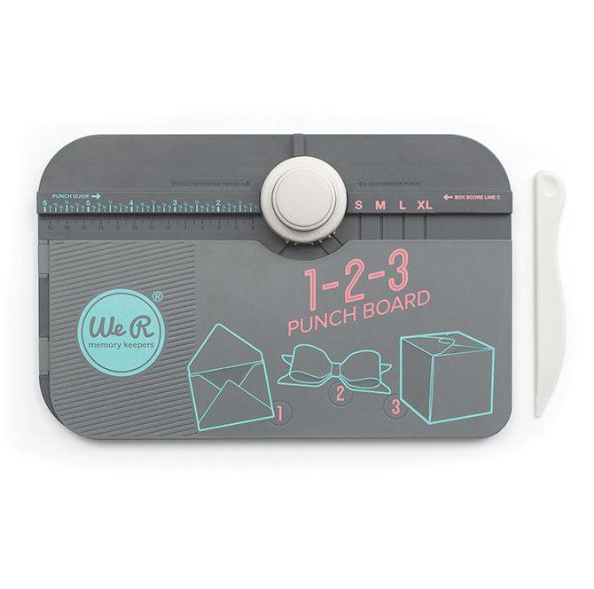 1 2 3 Punch Board from Oh! Naif