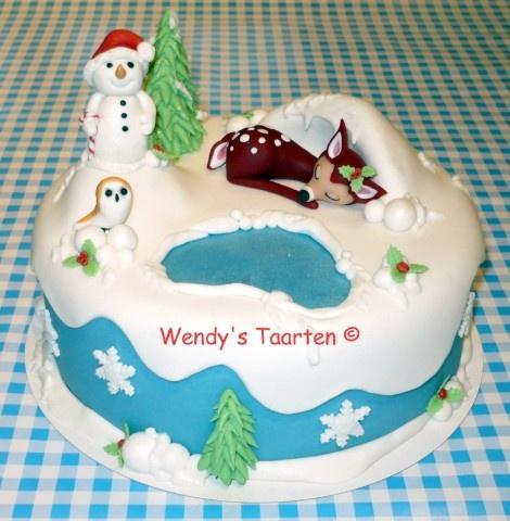Winter Wonderland  (http://www.4theloveofcake.nl)