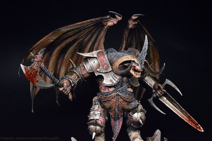 Krull Servivle Lord of Dis from Mierce Miniatures