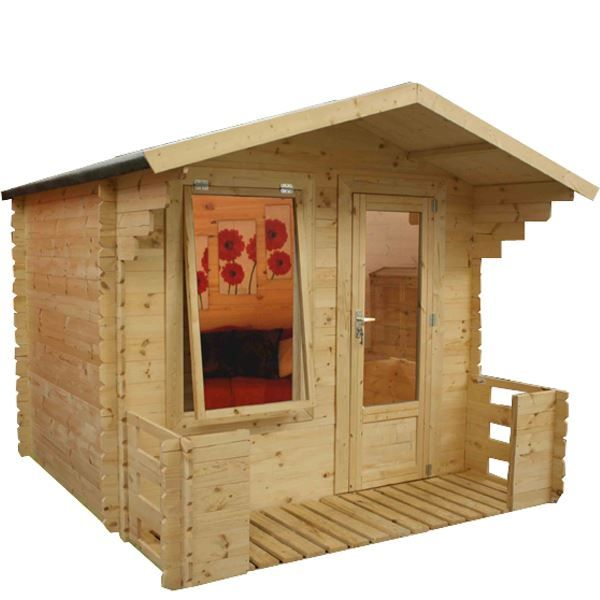 This log cabin review will look at the Walton's Mini Studio Log Cabin with Veranda. This is an ideal log…