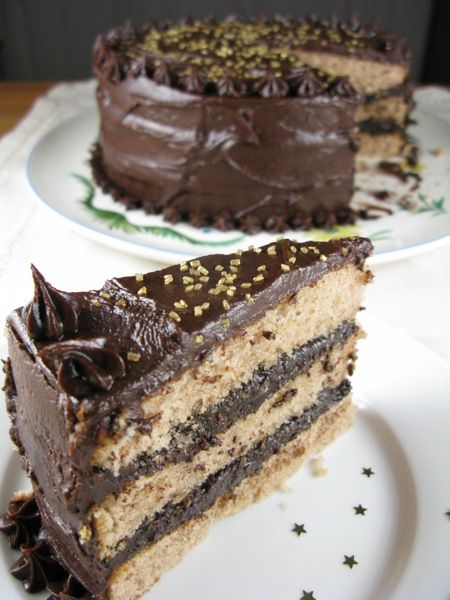 choco-chestnut cognac creme cake..... to die....    #ElectroluxEntertaining