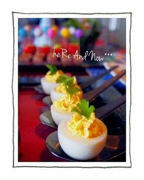 パーティーレシピ*海老とゆで卵のファルシー*|レシピブログ