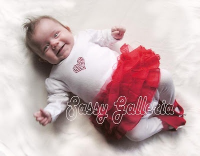 Baby K in Red