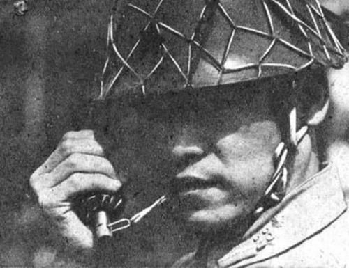 japanese army instructor using his teeths to activate a Type 10 fragmentation hand grenade - Pin it by GUSTAVO BUESO-JACQUIER