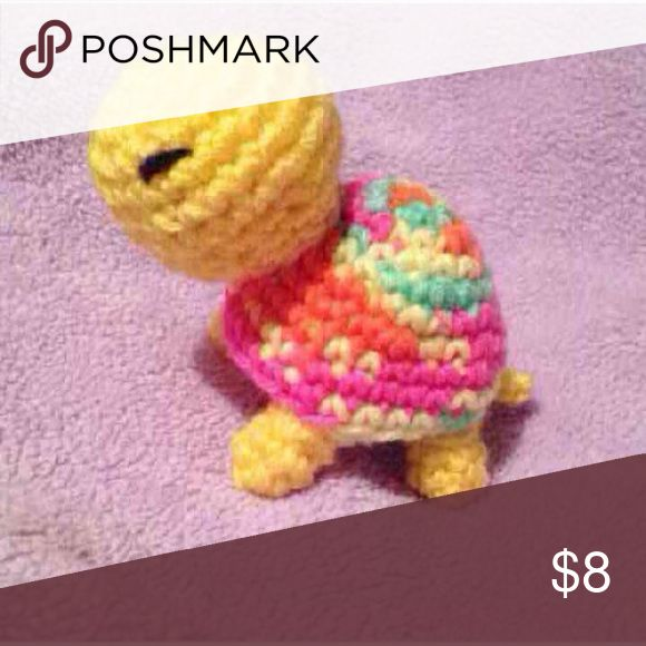 Day glow & yellow turtle Handmade, made to order, so may take 2-7 days to ship. Other