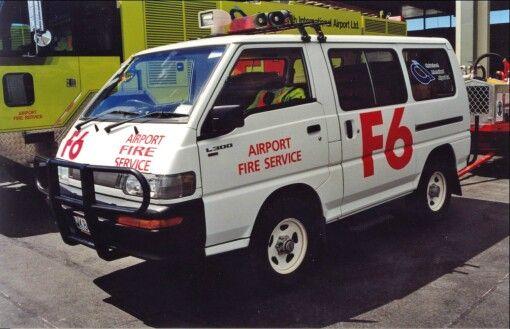 Ex. Christchuch Airport F6 1997 Mitsubishi L300