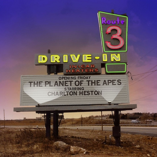 Route 3 Drive-In, Rutherford NJ - The drive-in operated from the early 1950's until 1985.