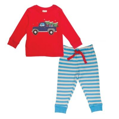 Frugi Παιδική Βρεφική Πυτζάμα – Φορτηγό - Sunnyside