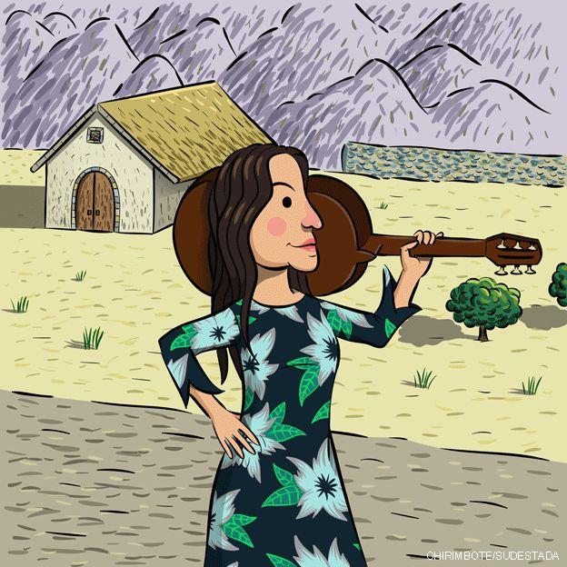 Cuento de Violeta Parra