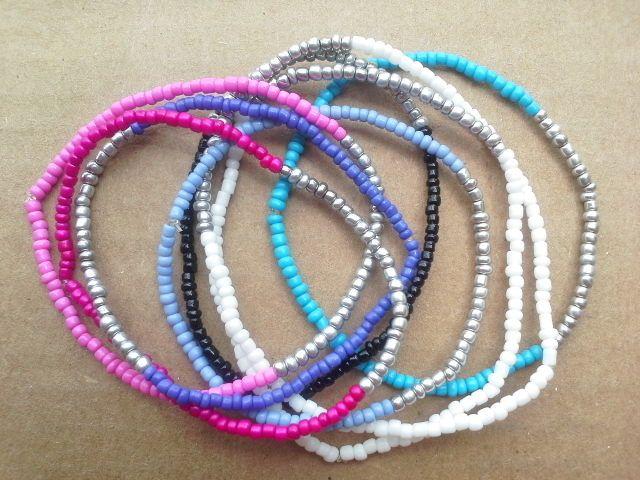 pulseras de chaquira on Pinterest   Colors