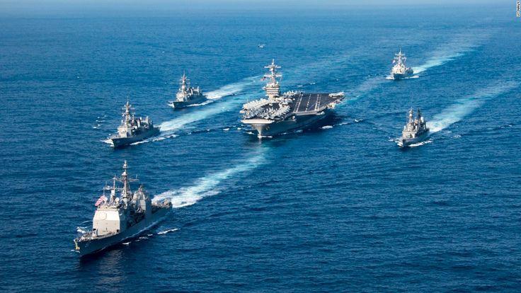 nice Show of force: US strike group heads to Korean Peninsula