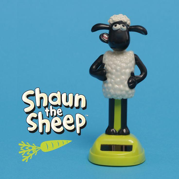 Ovečka Shaun jako solární hračka od Puckator! Beeeee-zva! #ShaunTheSheep #solarpal