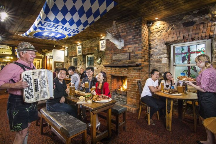 When in Hahndorf, tasting the food at award-winning German restaurant Hahndorf Inn is a must. - Photo from Tourism Australia