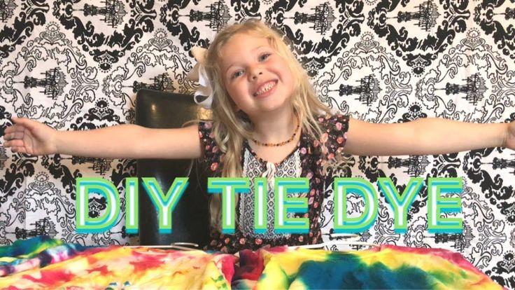 DIY TIE DYE | How To | Tutorial - YouTube