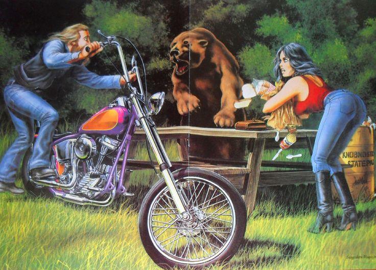 166 Best Images About Harley Davidson On Pinterest: 166 Best Images About David Mann On Pinterest