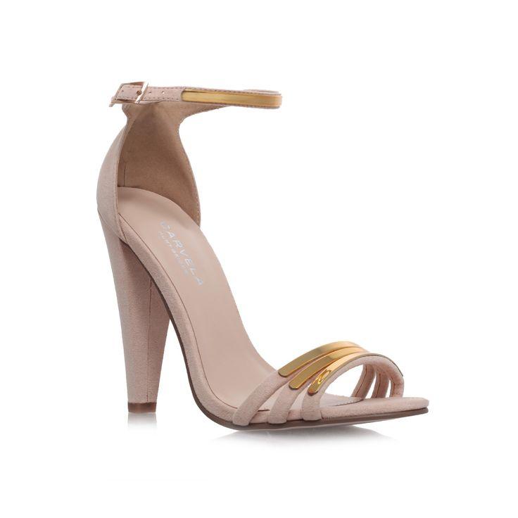 cara, nude shoe by carvela kurt geiger - women shoes occasion - a good  bridesmaid shoe possiblity