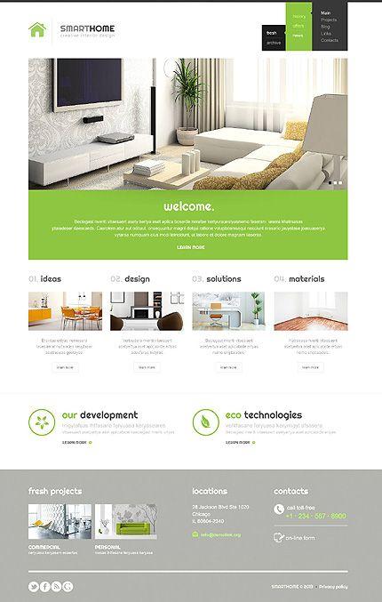 Apartment Website Design Unique Design Decoration