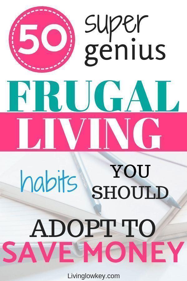 Sie werden diese 50 genialen, sparsamen Lebensgewohnheiten lieben, die Sie in …   – Home life