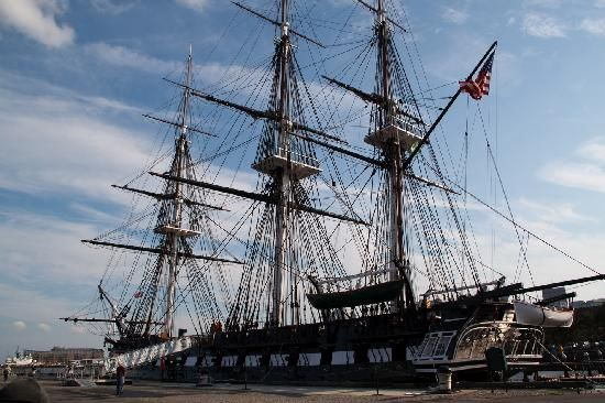 USS Constitutin Museum - The oldest commissioned ship in the U.S. Navy and undefeated in battle, Old Ironsides earned its famous nickname with its legendary ability to repel any shot fired. Active-duty sailors guide visitors around the ship.