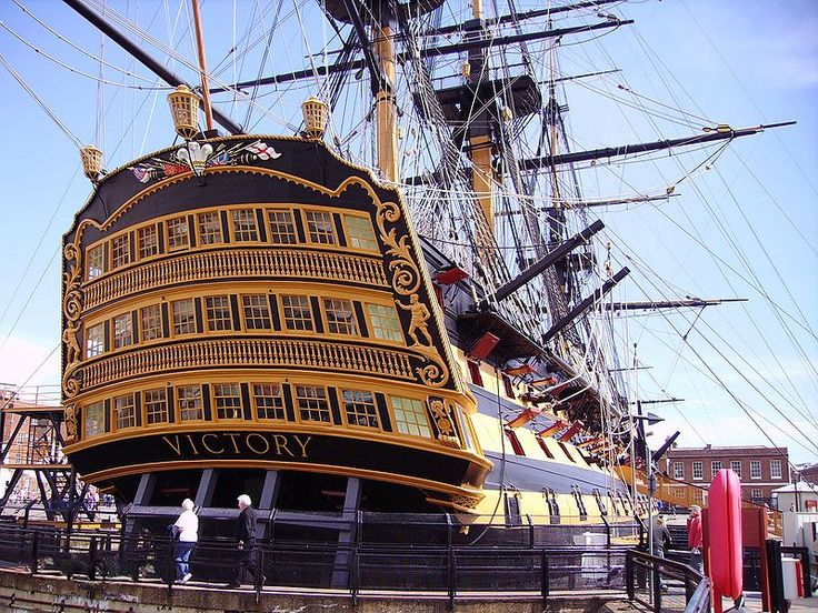 HMS Victory is the Royal Navy's most famous warship. She is the world's oldest commissioned ship and a proud memorial to Vice Admiral Lord Horatio Nelson, Britain's greatest Naval hero. Standing proud in her home of No. 2 dry dock, HMS Victory is one of the most famous warships ever built. Built between 1759-1765, Victory was a first-rate, ship-of-the-line.