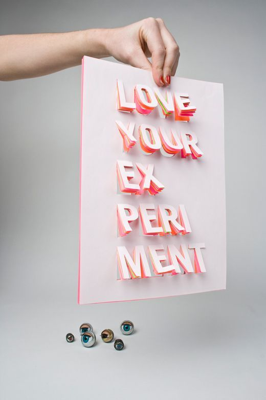 LOVE YOUR EXPERIMENT by Saskia Pouwels