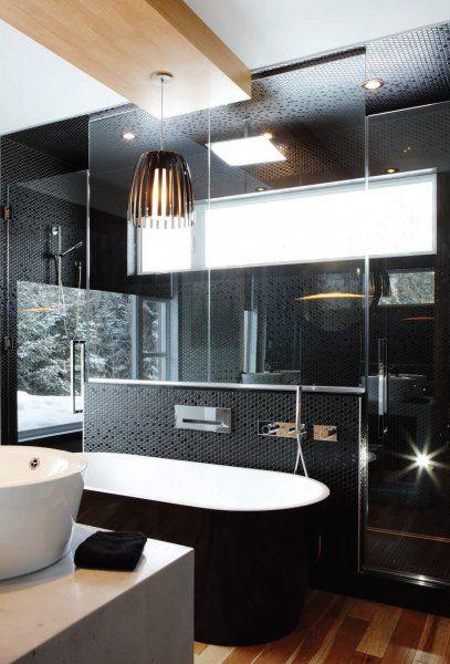 21 best Portfolio - Salle de bain images on Pinterest - mosaique rose salle de bain