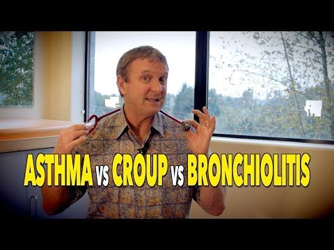 The Difference Between ASTHMA, CROUP, & BRONCHIOLITIS | Dr. Paul - YouTube