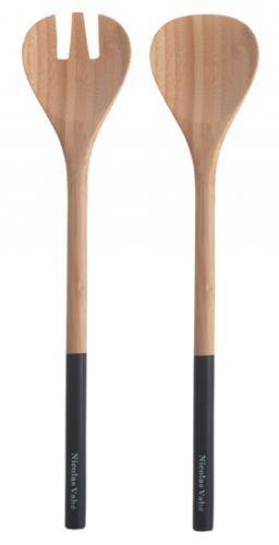 Et lekkert salatbestikk i bambus som setter standaren for måltidet. Lengde 30 cm. Nicolas Vahè produsert for House Doctor.